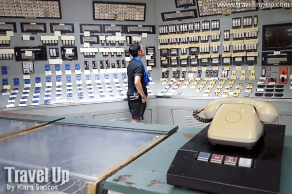 18. bataan nuclear power plant control room phone