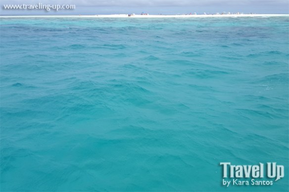 camiguin white island blue sea