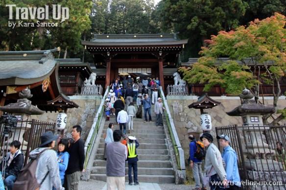 takayama autumn festival japan shrine