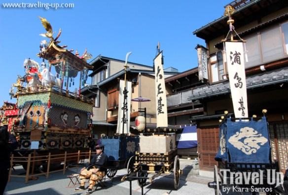 takayama autumn festival japan yatai floats street
