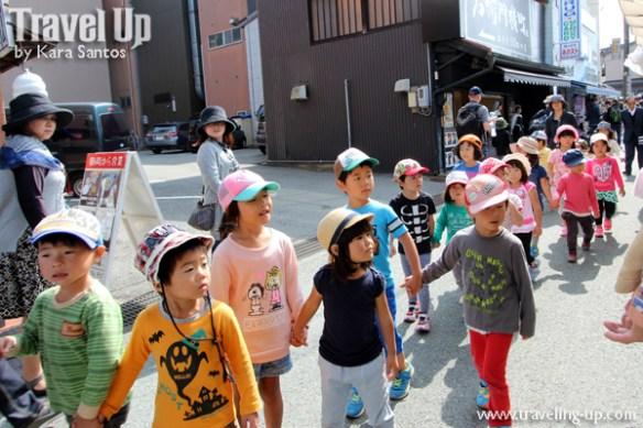 takayama autumn festival kids