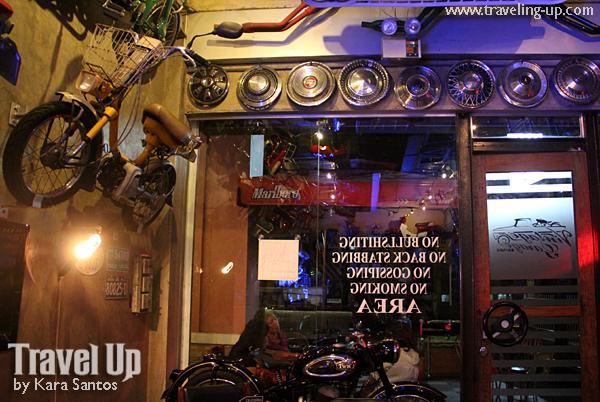 Vintage Garage Bar Diner In Legazpi City