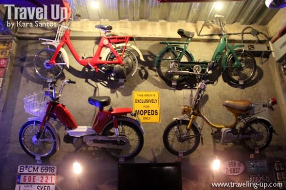 vintage garage bar legazpi bicol mopeds