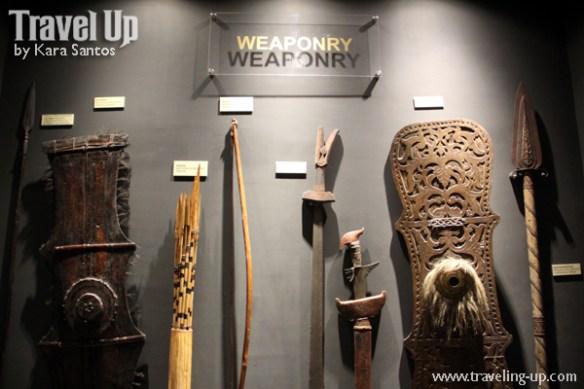 museo de oro cagayan de oro weaponry