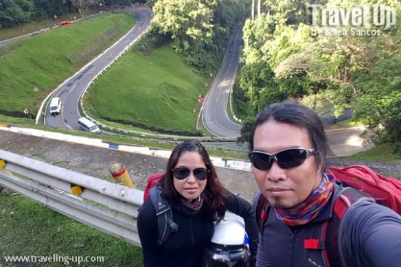motorcycle naga to manila bicol bitukang manok selfie