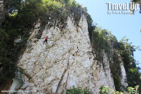 rock climbing poog cebu wide shot