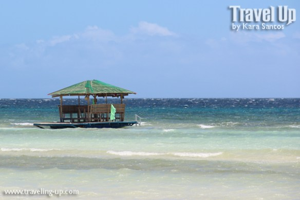 bohol by motorcycle anda beach floating hut