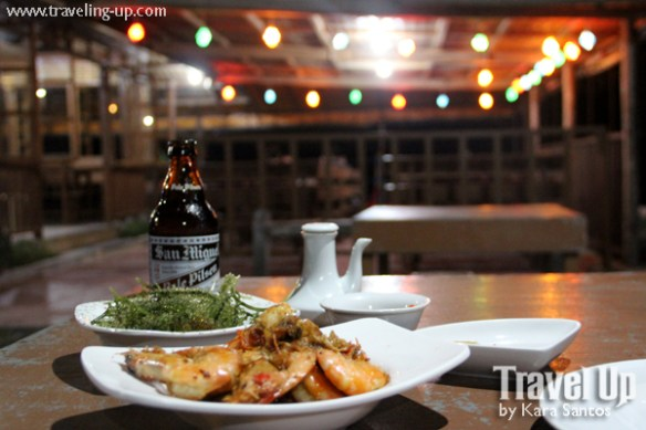 genaro's grill bohol baclayon prawns lato beer