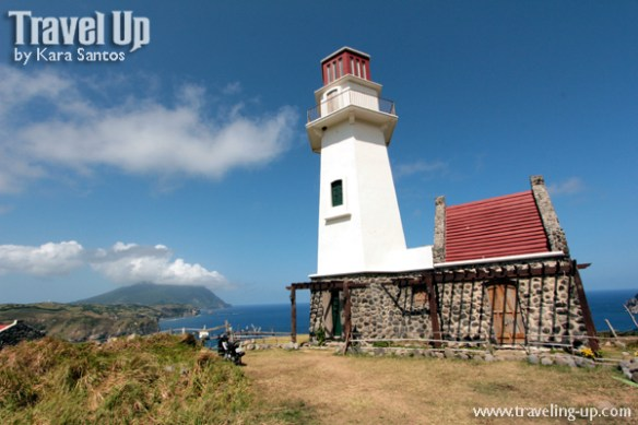 batanes mahatao lighthouse motorcycle