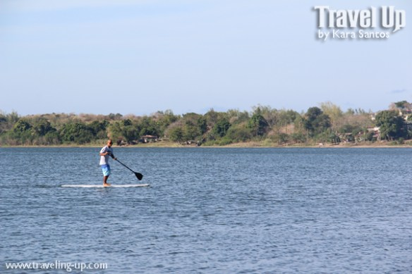 paoay lake ilocos norte stand up paddleboard