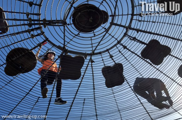 04. masungi georeserve tanay rizal sapot spiderweb below