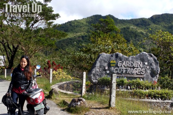 garden cottages tanay rizal marker travelup motorcycle
