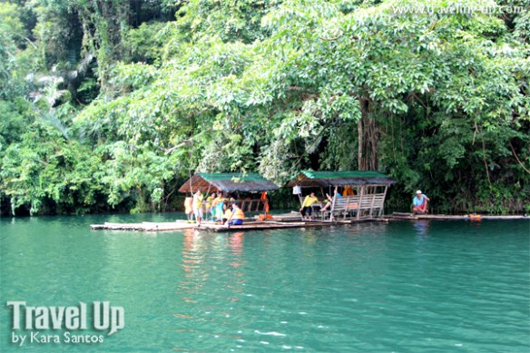 lake pandin laguna floating restaurant rafts
