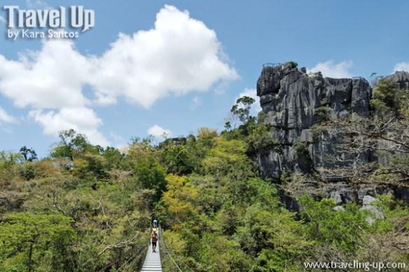 masungi georeserve tanay rizal tatay wide bridge
