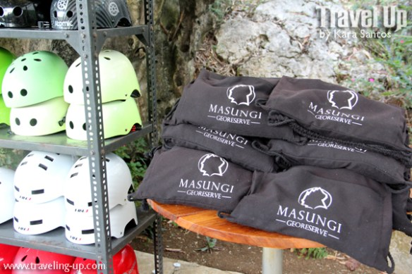 masungi georeserve tanay rizal trail kit helmet