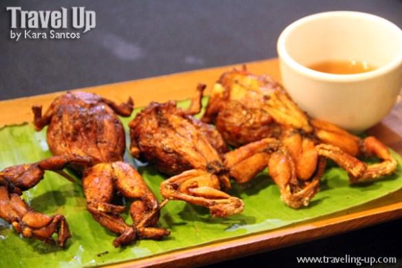 pampanga exotic food apag marangle frogs