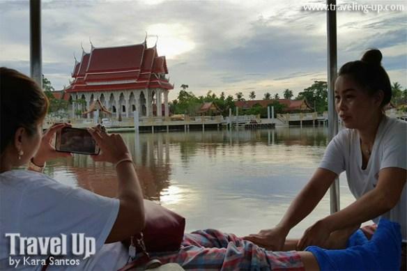 day 3 thai foot massage on boat thailand