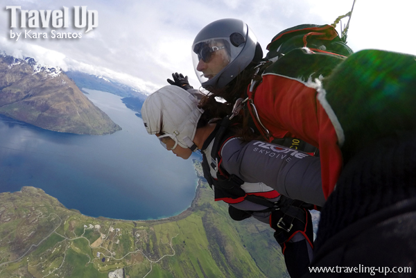Skydiving In Queenstown New Zealand Travel Up