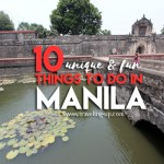 10 Unique & Fun Things to Do in Manila