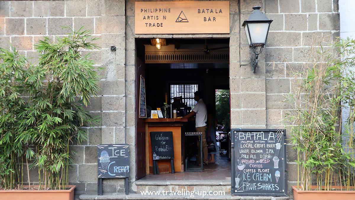 Cozy spot for post-ride drinks in Intramuros: Batala Bar – Travel Up