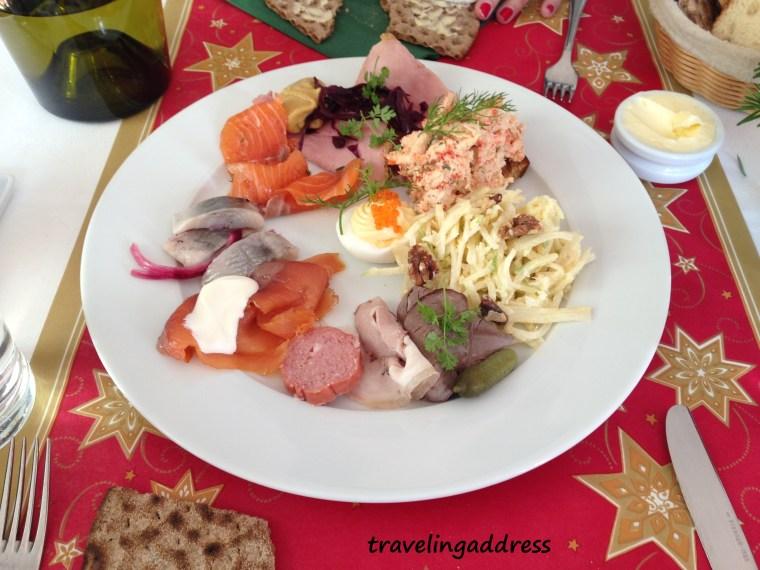 assiette norvégienne noël en norvège