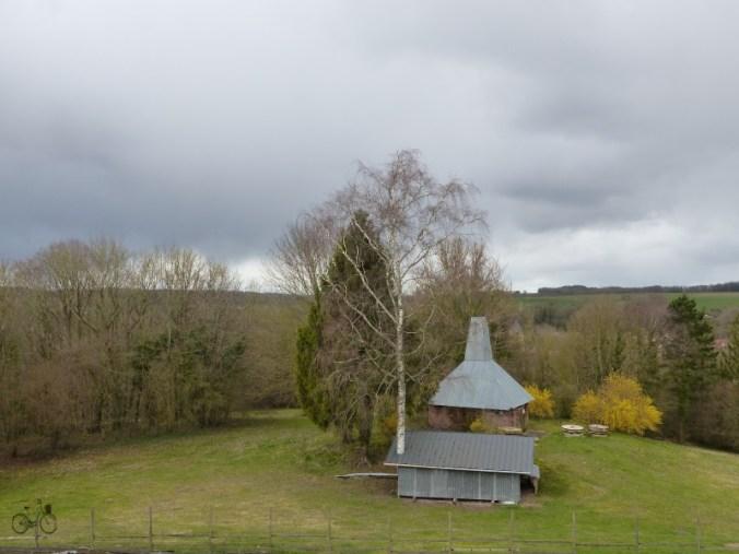 vue moulin cité souterraine de naours