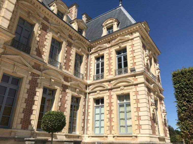 façade arrière du château de Sceaux