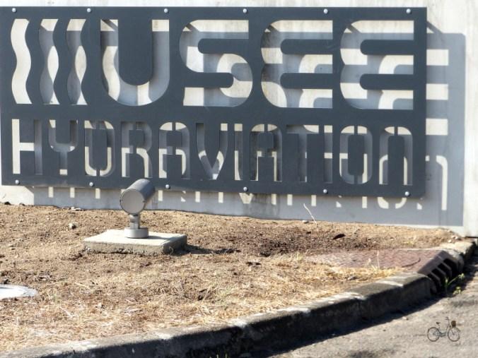 Plaque musée de l'hydravion