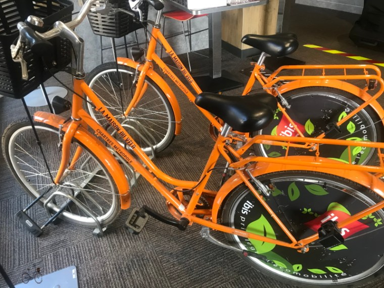 Rambouillet-Chartres à vélo : prêt de vélos