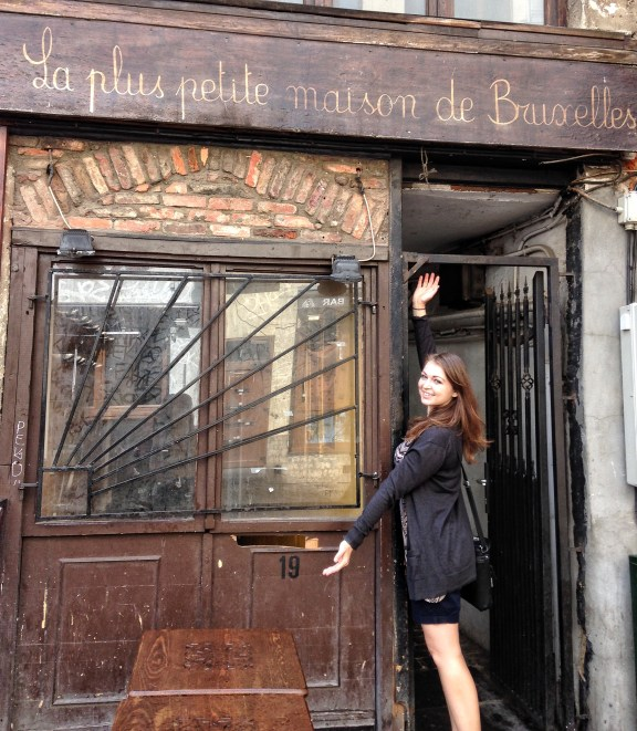The Smallest House in Brussels, Belgium 2014
