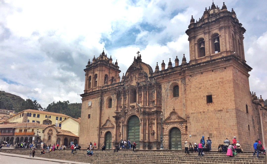 Plaza de Armas - the city center in Cusco, Peru