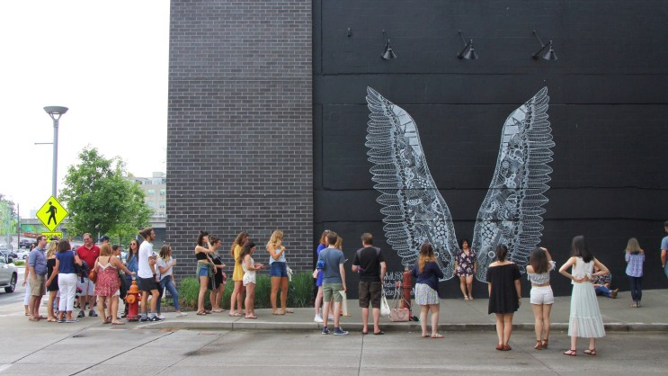 """Visit Music City to see the """"What Lifts You?"""" mural, Nashville, Tennessee"""