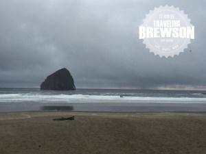 Pelican Pub & Brewery ocean front.