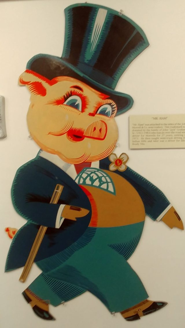 mr Ham from Wapello County Historical Museum