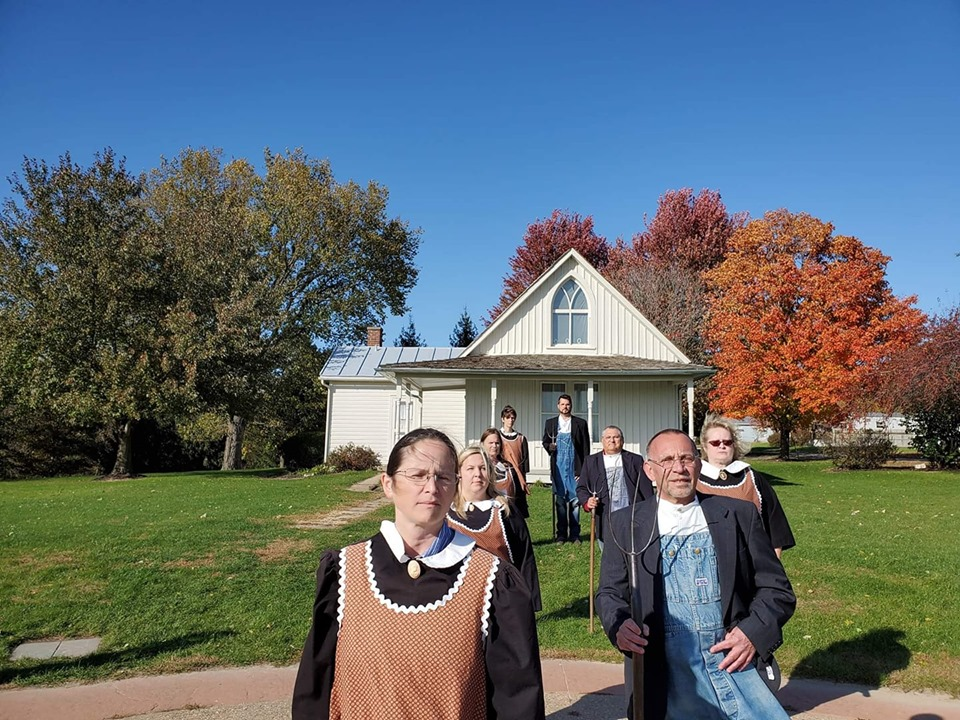 The Art Behind the American Gothic House and Center
