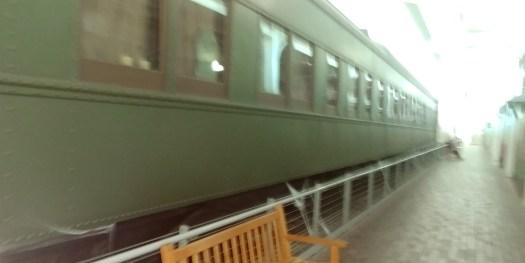 haunted train at durham train museum