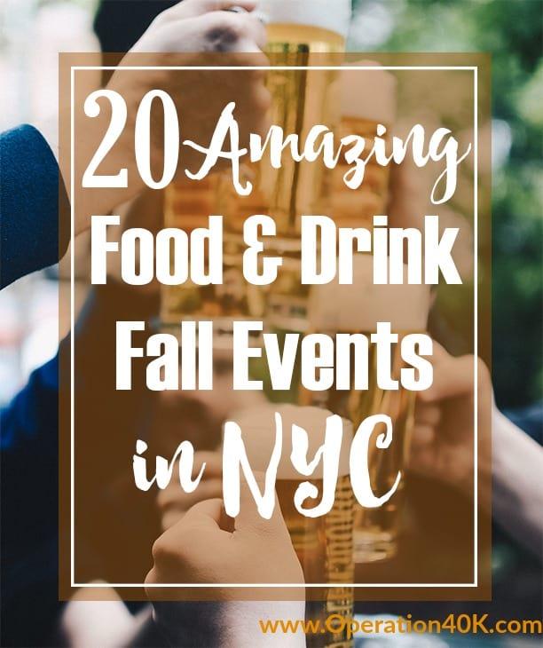 New York Fall Festivals