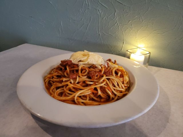 Sopra: a New Lake Geneva Restaurant spaghetti dish