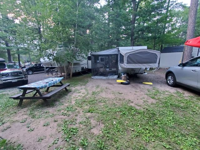camping in ironwood michigan