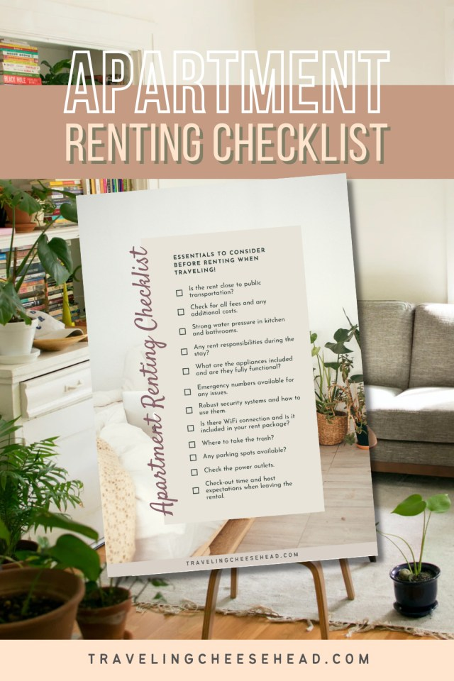 Apartment renting checklist
