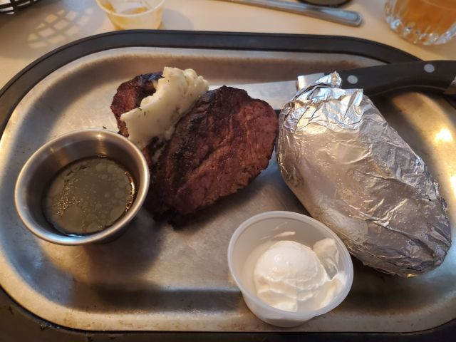 Buckhorn Supper Club steak