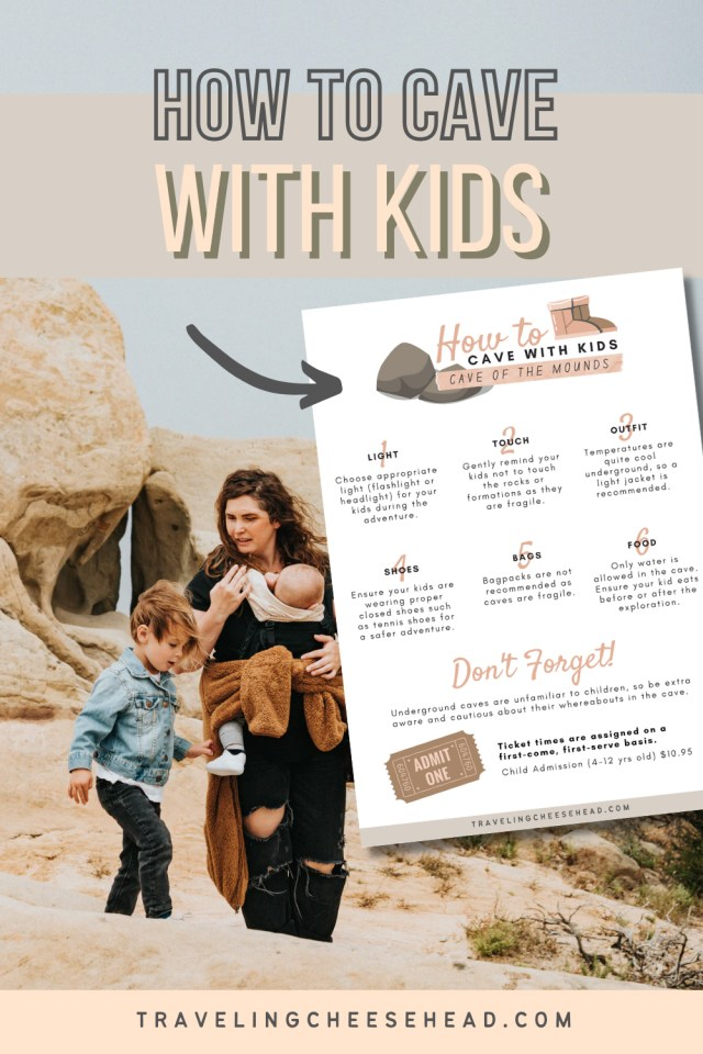 cave of the mounds with kids