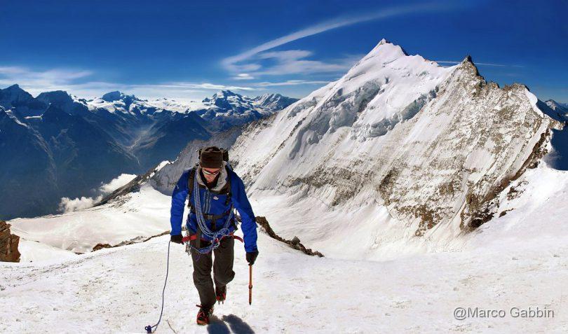 il club 4000 Marco Gabbin scalata Bishorn