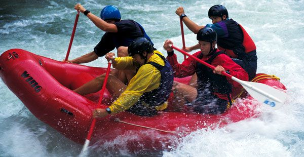 Try kayaking or rafting