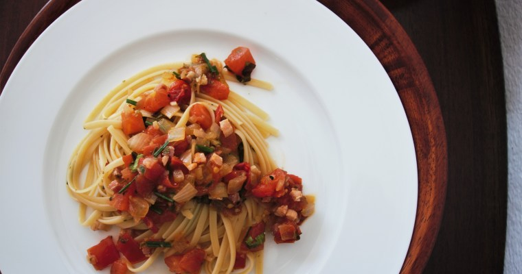 French Memories: My Go-to Pasta Recipe