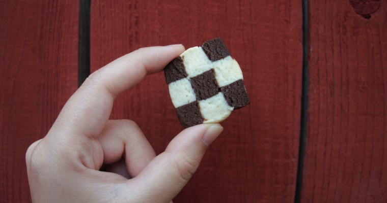 Sundays are for Baking: Checkerboard Cookies!