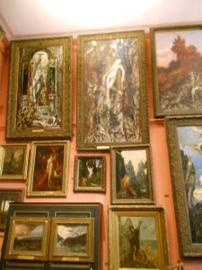 Musée Gustave Moreau! Sorry for the crappy photo quality. From 2012.