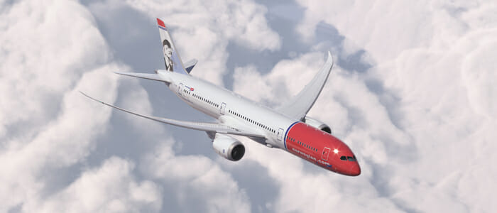 Norwegian 787-9 Dreamliner