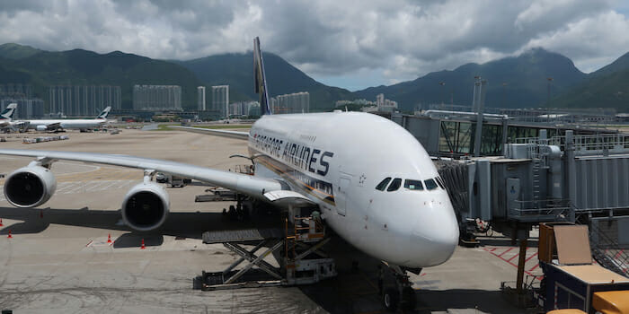 SIngapore Airlines First Class Suites A380