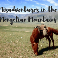 Misadventures in the Mongolian Mountains